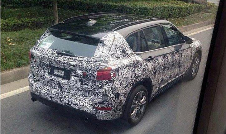 «длинный» BMW X1