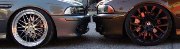 какая разболтовка на BMW e32