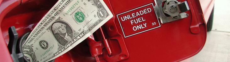 Деньги утекают в бензобак