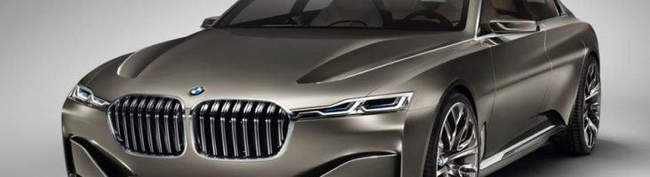 BMW 7 серии серая