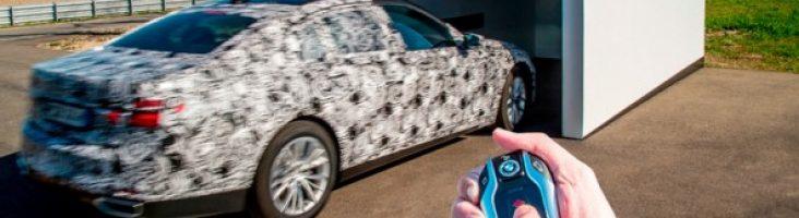 дистанционная парковка BMW 7