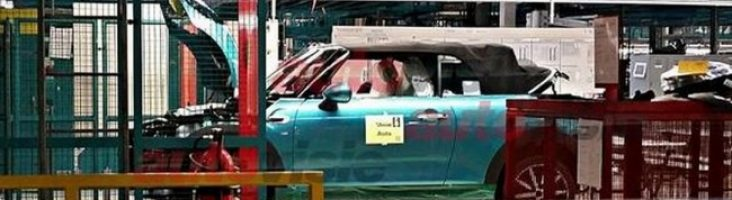 MINI Cooper Cabrio на конвейере