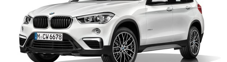 BMW X1 2015 белый