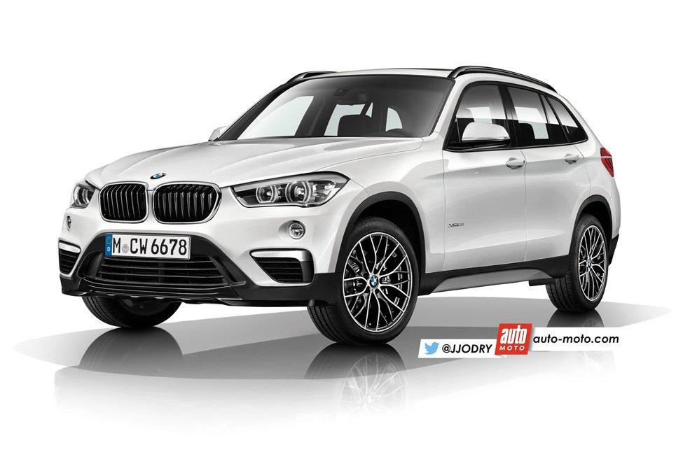 Появились новые подробности о BMW X1