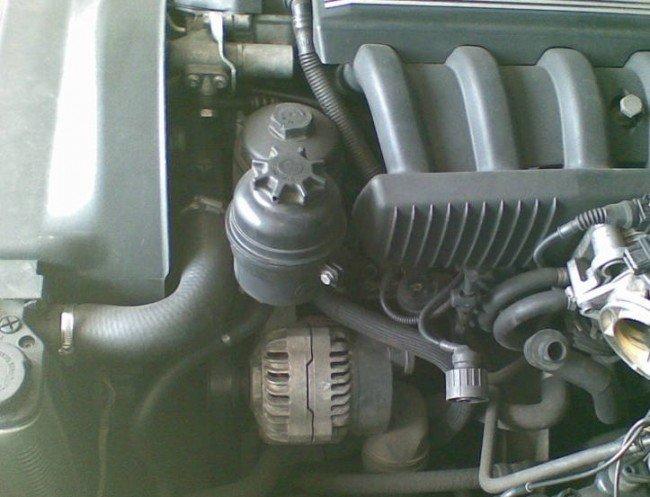 Система усилителя руля BMW E39