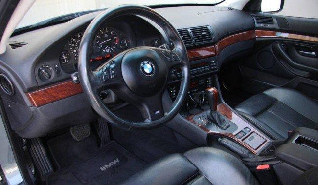 Салон BMW Е39