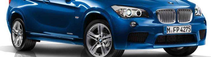 BMW X1 синий