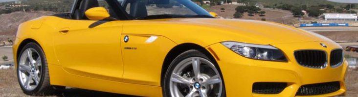 BMW-Z2 ;желтый