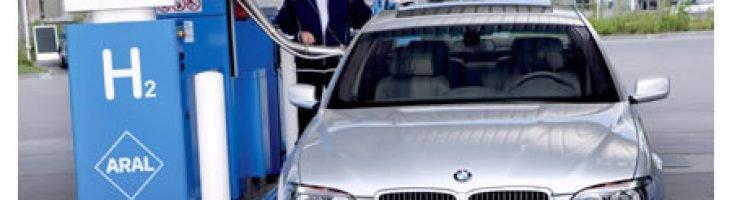 BMW работающий на водороде