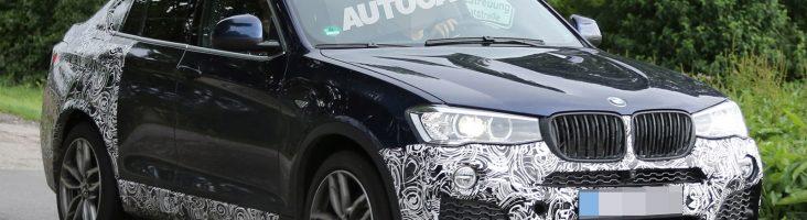 BMW X4 M40i в камуфляже