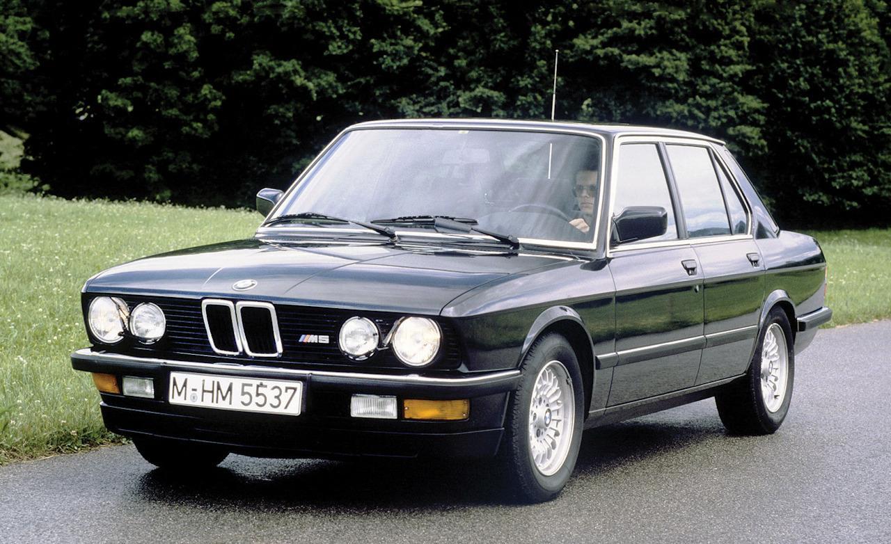 BMW Е28 вид спереди