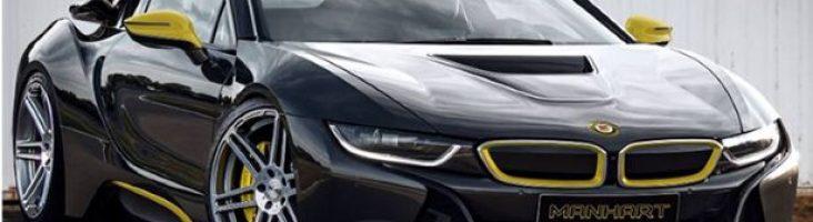 BMW i8 черный