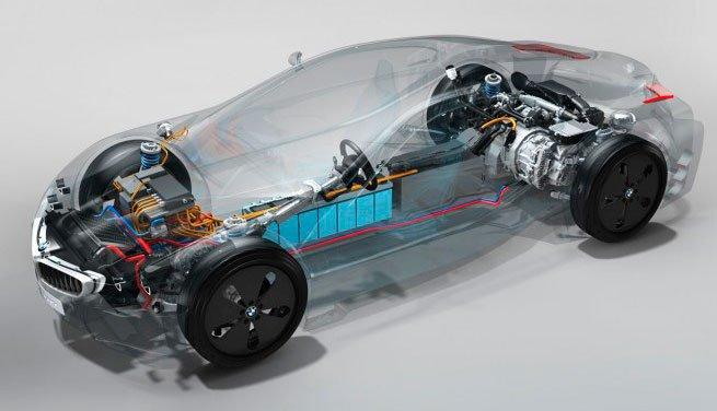 Двигатель от BMW i8 признан лучшим в Мире