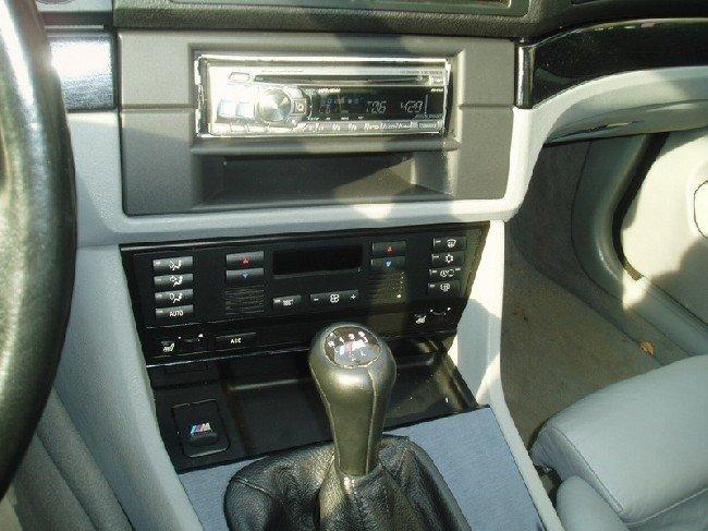 общий вид магнитолы BMW