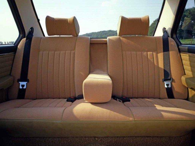 Задние сидения БМВ Е12