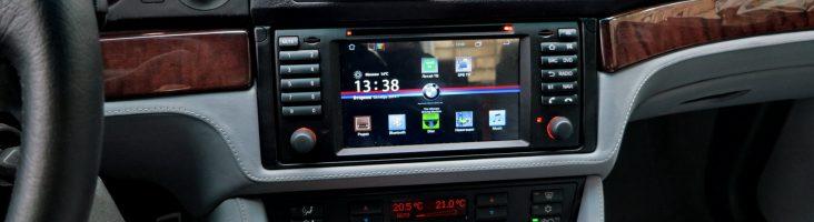 магнитола на андроиде для BMW e39