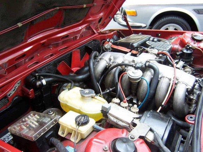 Двигатель БМВ Е12