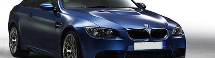 BMW-e39 синего цвета