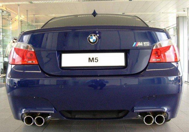 Рестайлинг BMW M5 E60