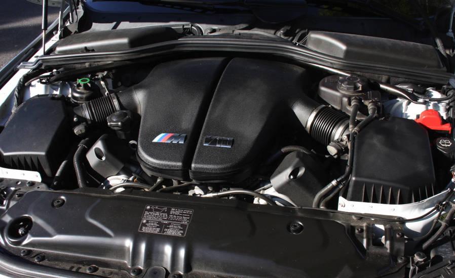двигателя у bmw m5 на механике