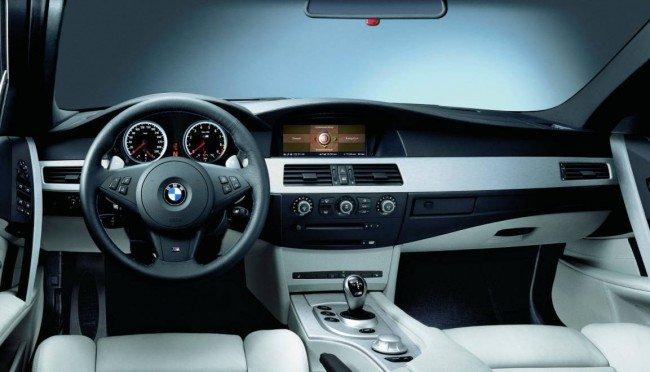 Интерьер BMW M5 E60