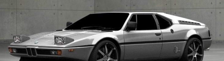 BMW M1 в цвете Polaris Silver