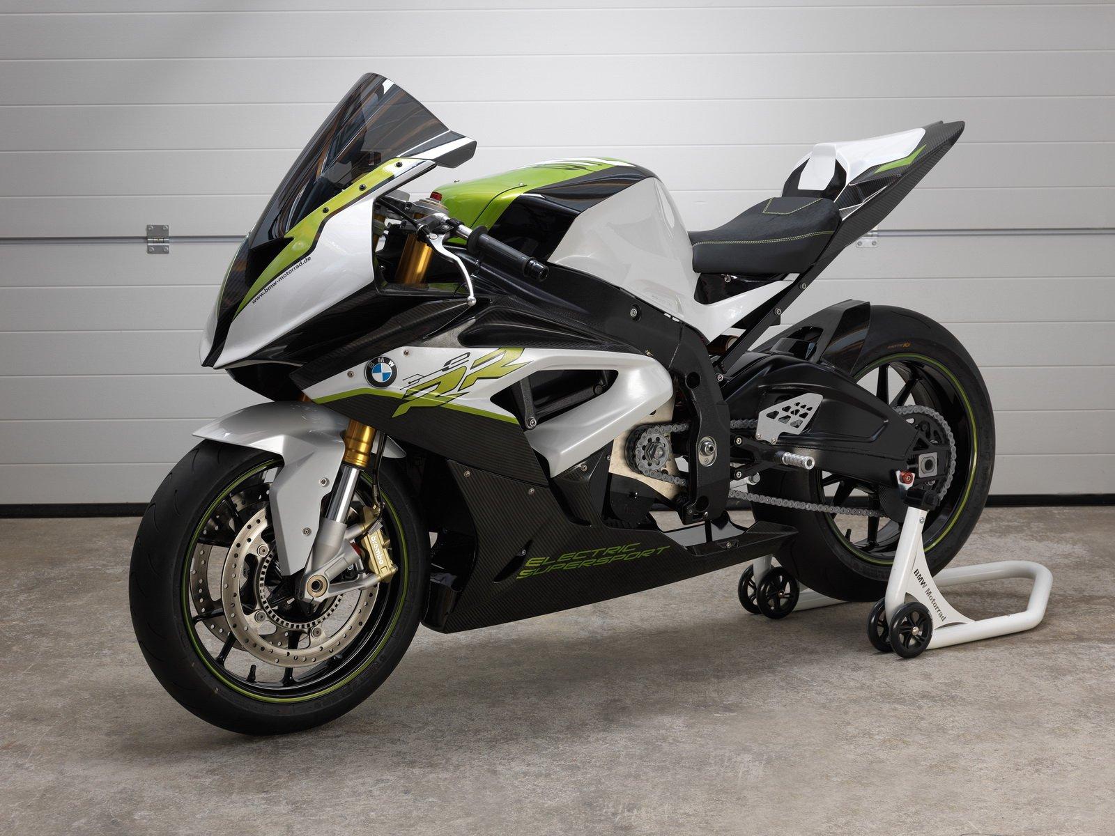 BMW представил новый электрический мотоцикл