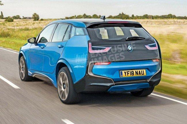 BMW i5, макет