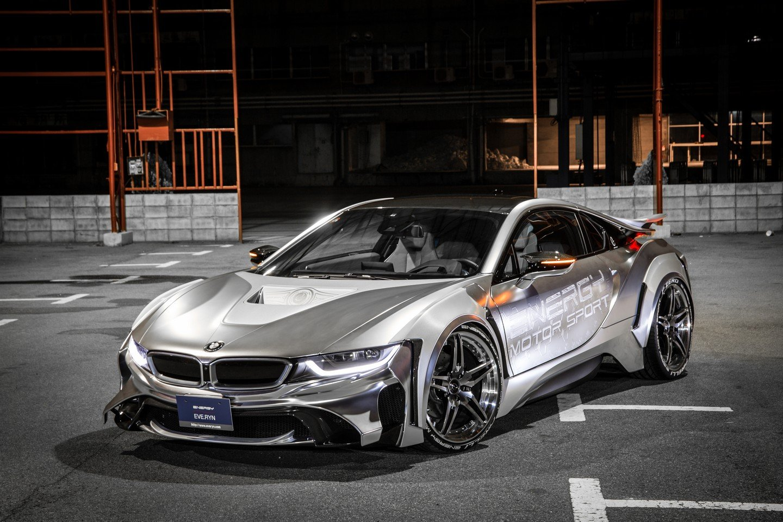 Для гибридного BMW i8 доступен обвес