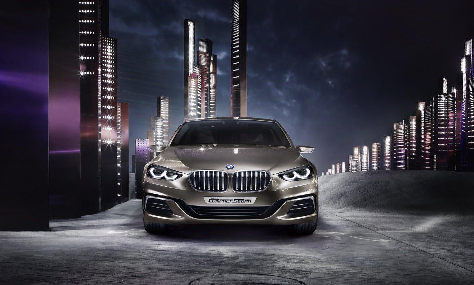 BMW презентовал предвестника компактного седана 1-й серии