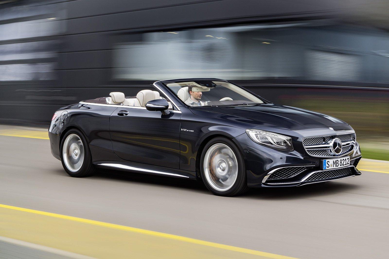 Mercedes-Benz анонсировал кабриолет S-класса с V12