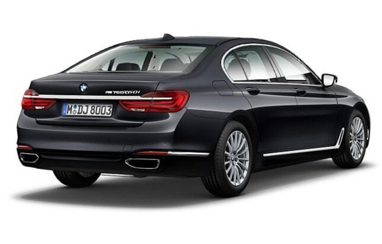 BMW выпустит длиннобазный седан M760Li