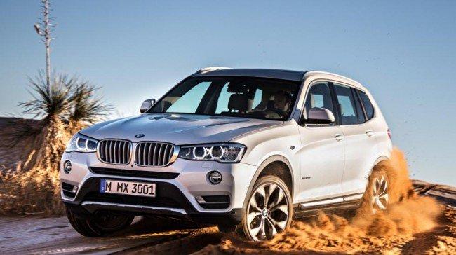 BMW X3 текущего поколения