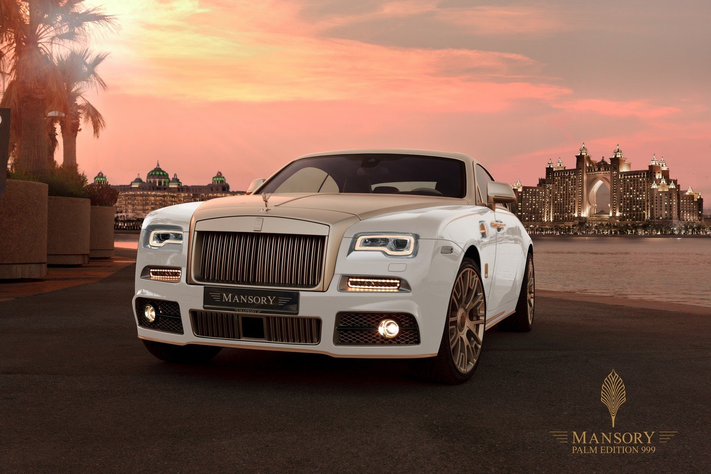 Mansory представил золотой Rolls-Royce