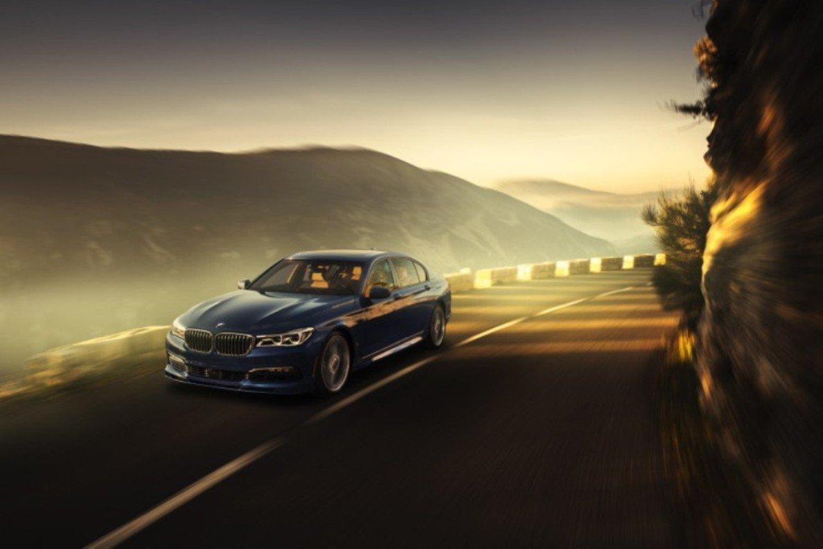 Alpina показала собственное видение нового BMW 7-й серии