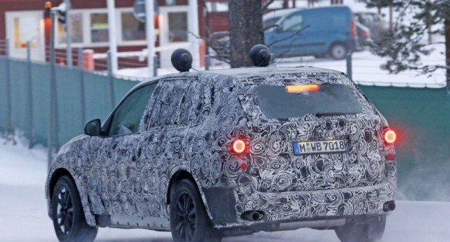 BMW Х5, вид сзади