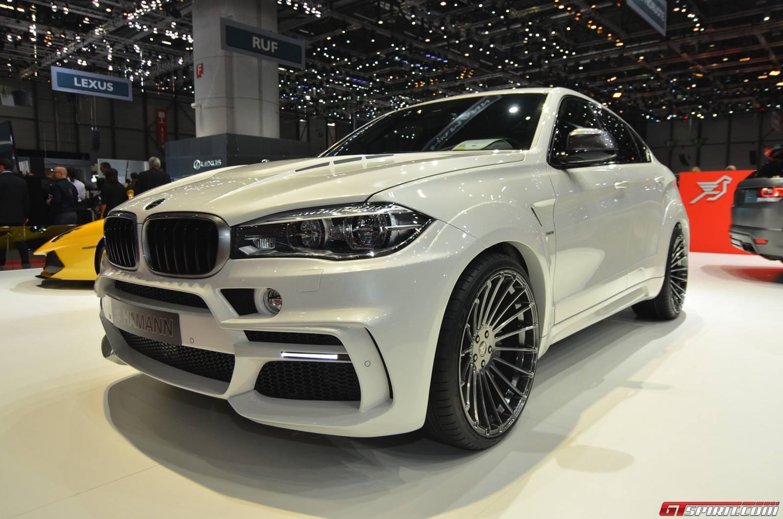 Немцы доработали внедорожники BMW X4 и X6
