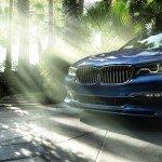 Радиаторная решётка BMW Alpina B7