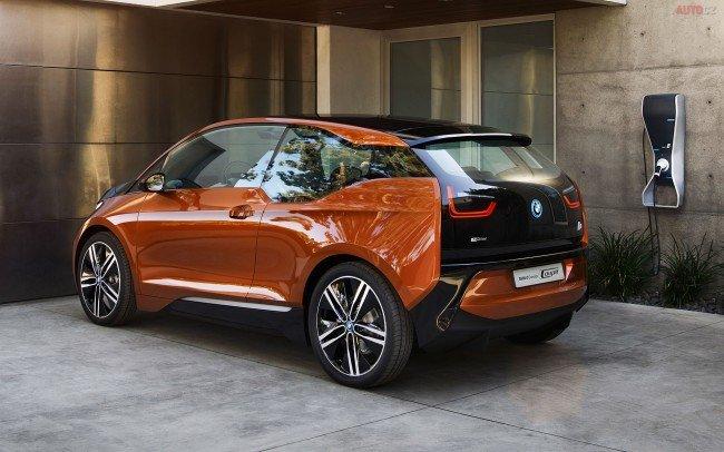 BMW i3, вид сбоку