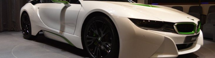 BMW i8 от Abu Dhabi Motors