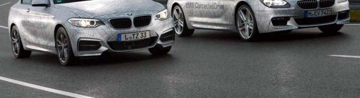 BMW с автономным управлением