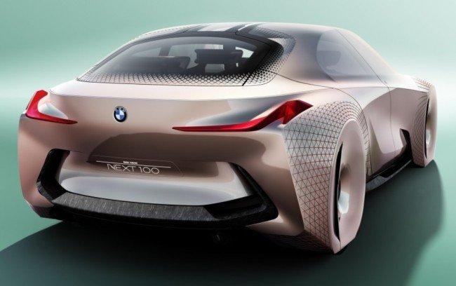 BMW Vision Next 100, вид сзади