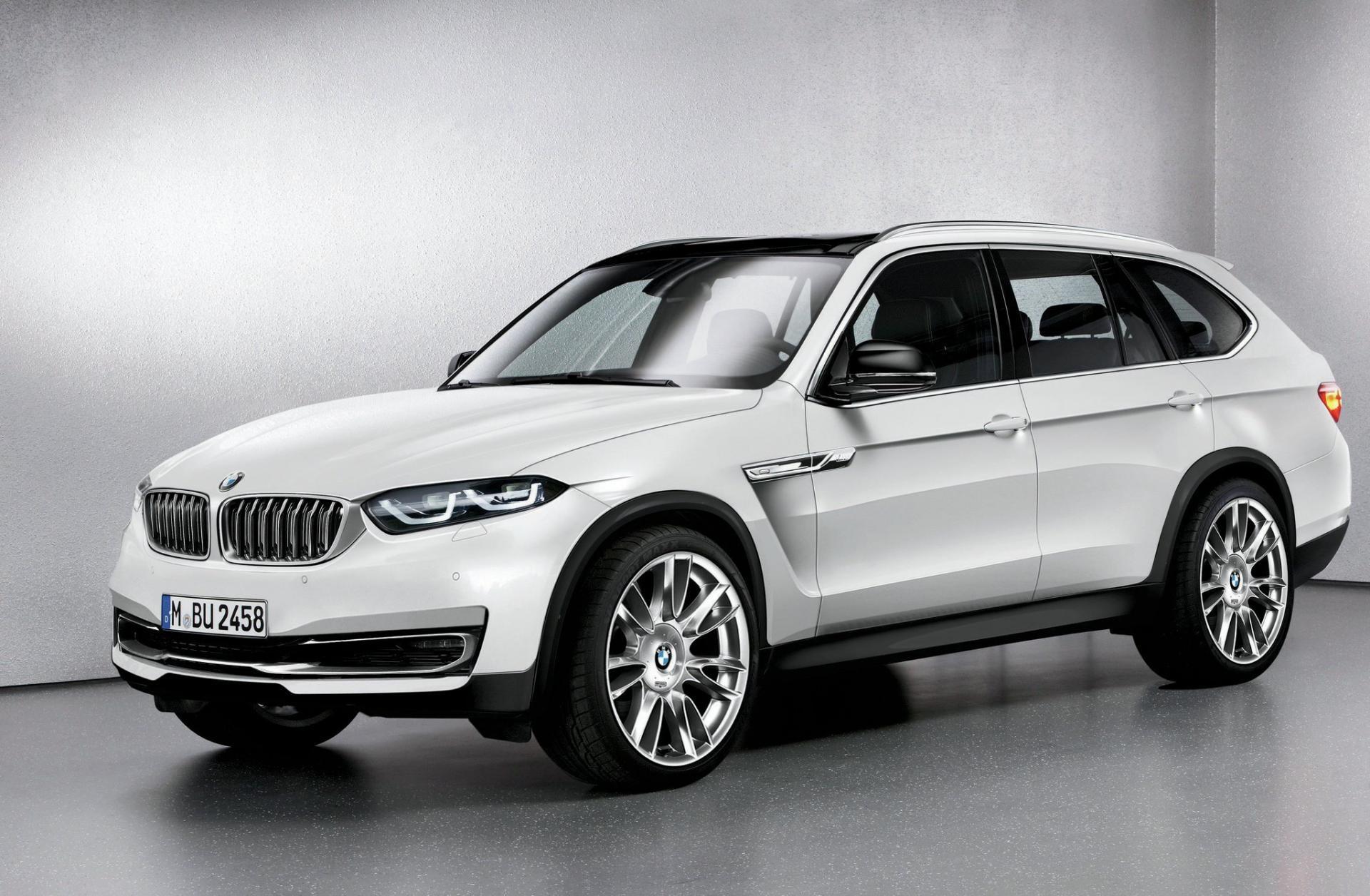 BMW занялся созданием большеразмерного внедорожника Х7
