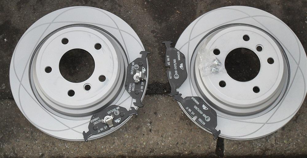 Тормозные диски БМВ Е39