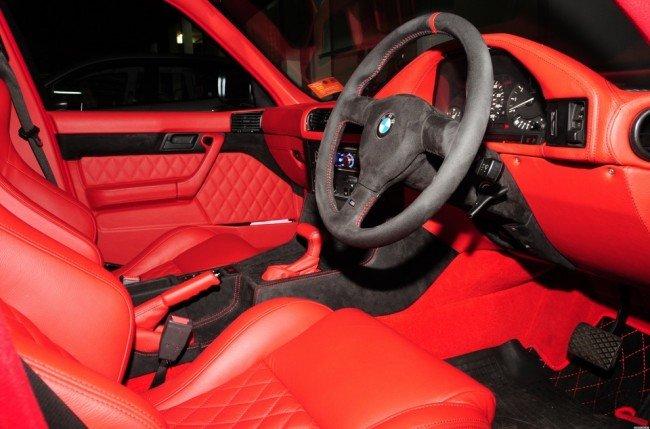 тюнинг салона BMW
