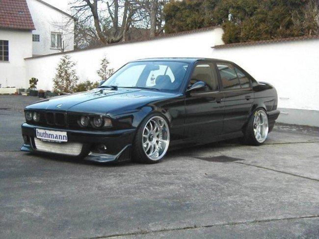 Внешний тюнинг BMW E34