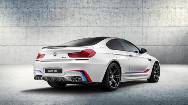 BMW M6 Competition Edition, вид сзади